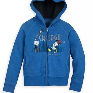 NWOT Disney Store Minnie Mouse Chicago Hoodie